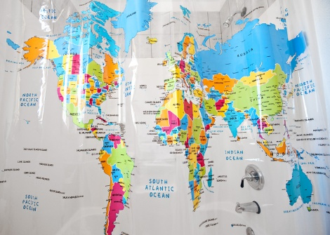 worldmapshowercurtain